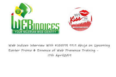 Web Indices on Air Interview on KissFM 99.9